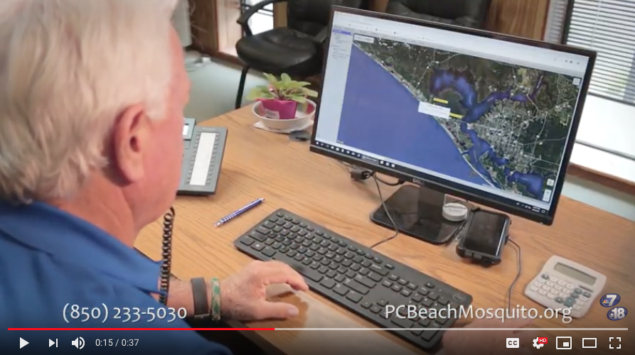 Beach Mosquito Control Using MapVision