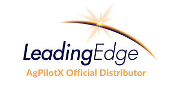 leading edge associates blue and orange logo
